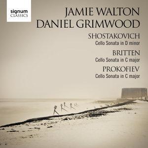 Shostakovich, Britten and Prokofiev Cello Sonatas
