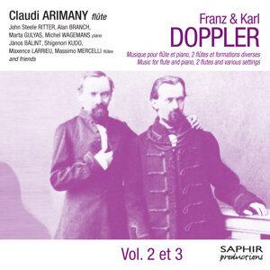 Doppler: Musique pour flûte et piano, deux flûtes et formations diverses (Vol. 2 & 3)