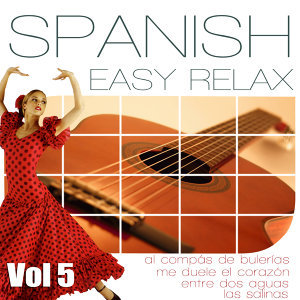 Easy Relaxation Ambient Music. Floute, Spanish Guitar And Flamenco Compas. Vol 5