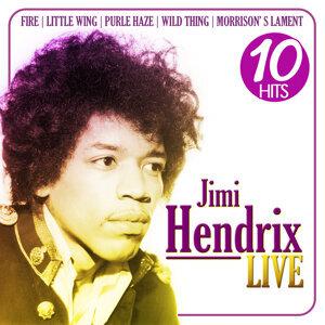 Jimi Hendrix Live. 10 Hits