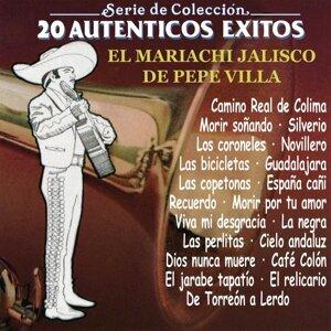 Serie de Colección 20 Auténticos Exitos Con el Mariachi Jalisco de Pepe Villa