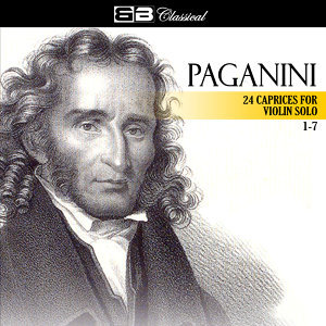 Paganini 24 Caprices for Violin Solo 1-7