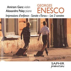 """G. Enesco: Impressions d'enfance - Sonate """"Torso"""" - Les 3 sonates (Intégrale des oeuvres pour violon et piano)"""