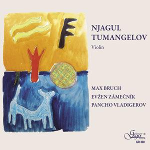 Njagul Tumangelov plays Bruch, Zamecnik, Vladigerov