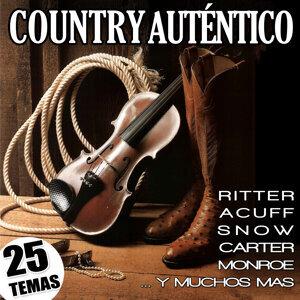 Country Auténtico. 25 Temas. Ritter, Acuff, Snow, Carter, Monroe …y Muchos Más