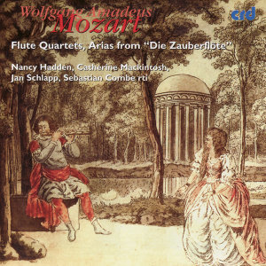"Mozart: Flute Quartets, Arias from ""Die Zauberflöte"""