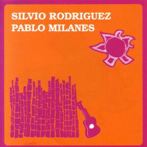 Silvio Rodriguez y Pablo Milanes