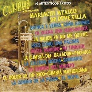 """Serie de Colección 16 Auténticos Éxitos  """"Cumbias Con Mariachi"""""""