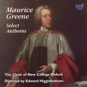 Maurice Greene, Select Anthems