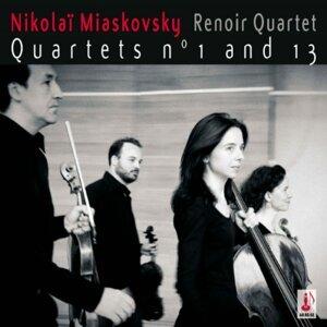 N. Miaskovsky: Quartets Nos. 1 & 13