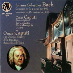 Bach: Concertos et transcriptions pour orgue - Les grandes orgues de la Basilique Santa Rita, Torino