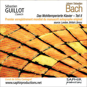 Johann Sebastian Bach - Das Wohltemperierte Klavier - Teil II (Le clavier bien tempéré - Livre 2)