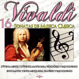 Antonio Vivaldi: 16 Sonatas de Música Clásica