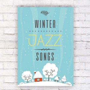 Winter Jazz Songs – Delicate Sounds of Jazz, Instrumental Music, Soft Sounds of Piano, Jazz Lounge