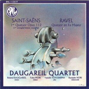 Camille Saint-Saëns & Maurice Ravel: Quatuors à cordes