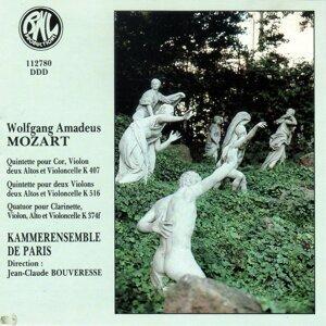 Mozart: Quintettes, quatuor pour vents et cordes
