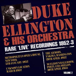 Rare Live Recordings 1952-53, Vol. 2
