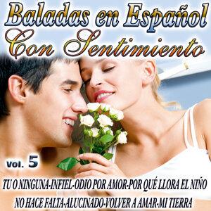 Baladas En Español Con Sentimiento Vol.5