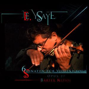 E. Ysaÿe: 6 Sonaten für Violine Solo Opus 27