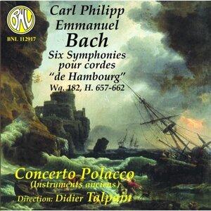 """C.P.E. Bach: Six Symphonies pour cordes """"de Hambourg"""""""