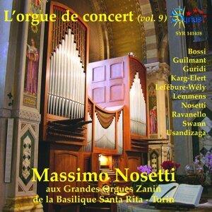 L'orgue de concert, vol. 9 - Grandes Orgues Zanin de la Basilique Santa Rita, Turin