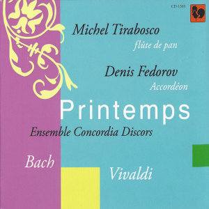Bach & Vivaldi: Printemps (Accordion and Panpipes)