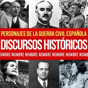 Discursos y Grabaciones Antiguas de la Guerra Civil. Franco, Manuel Azaña, Francesc Maciá, Lluís Companys. Pasionaria. Alfonso XIII
