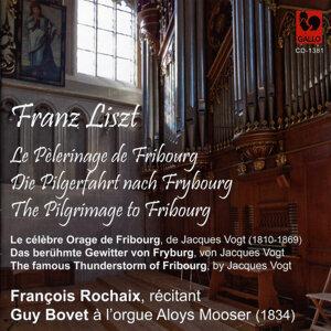 Franz Liszt: Le pèlerinage de Fribourg, fantaisie musicale et littéraire