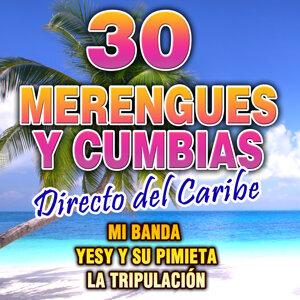 Merengues y Cumbias. Directo del Caribe