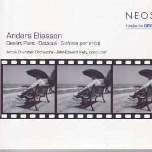 Eliasson: Desert Point; Ostácoli; Sinfonia per archi