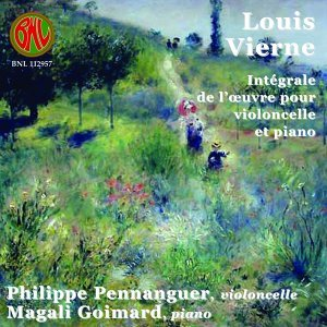 Vierne: L'œuvre pour violoncelle et piano