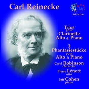 Reinecke: Trios pour clarinette, alto & piano,  3 Phantasiestücke pour alto & piano