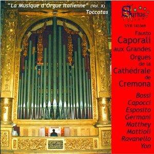 La musique d'orgue italienne, vol. 10 - Toccatas