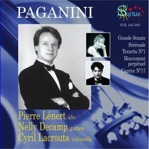 Nicolò Paganini: Pièces pour alto, guitare et violoncelle