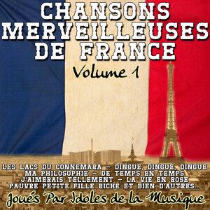 Chansons Merveilleuses de France Volume 1