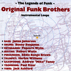 Original Funk Brothers Instrumental Loops