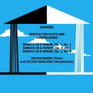 Handel Sonatas For Flute & Harpsichord