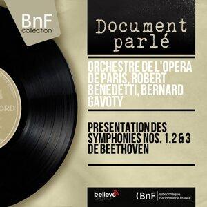 Présentation des symphonies Nos. 1, 2 & 3 de Beethoven - Mono version