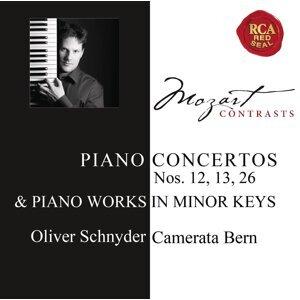 Mozart: Piano Concertos Nos. 12, 13, 26 & Works for Solo Piano