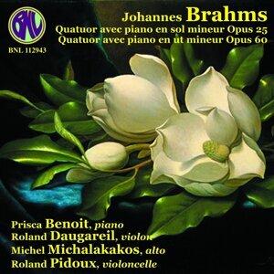 Brahms: Quatuors avec piano