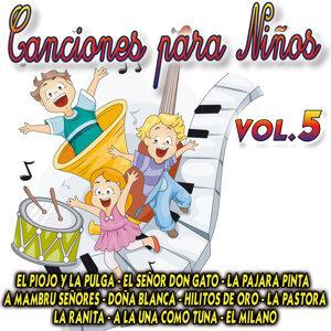 Canciones Para Niños Vol.5