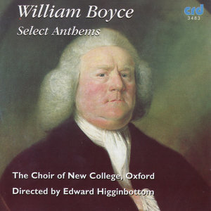 Boyce: Select Anthems