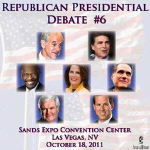 Republican Presidential Debate #6: Sands Expo Convention Center, Las Vegas, NV - 10/18/2011