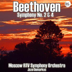 Beethoven: Symphony No. 2 & 4