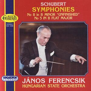 "Franz Schubert: Symphonies Nos 5 & 8 ""Unifnished"""