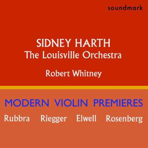 Sidney Harth Modern Violin Premieres: Edmund Rubbra, Herbert Elwell, Wallingford Riegger and Hilding Rosenberg