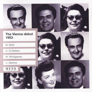 The Vienna debut, 1953
