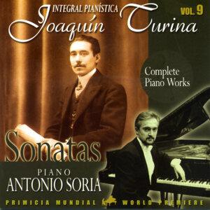 Joaquin Turina Complete Piano Works Vol 9 Sonatas