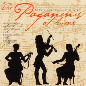 The Paganinis at home