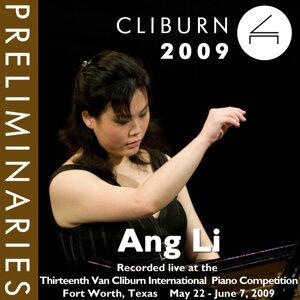 2009 Van Cliburn International Piano Competition: Preliminary Round - Ang Li